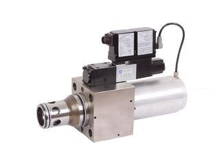 6300L / min 유압 비례 밸브 MA-LIQZO-LES 2 방 카트리지 밸브 25, 32