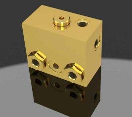 비례 솔레노이드 브레이크 출시 방향 유압 밸브 WYS-1 H