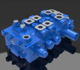크레인 용 다 방향 방향 유압 밸브 4 DP20GL-2