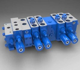 전 부하 감지 식 다 방향 유압 밸브 LTYB-G28L-5T