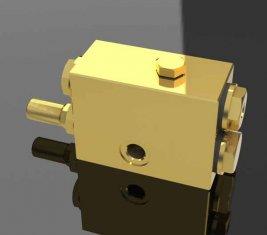 셔틀 QY12-f 5의 한 방법으로 스로틀 방향 유압 밸브 크레인