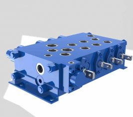 크레인 조합 제어 방향 유압 밸브 QYSF18-15