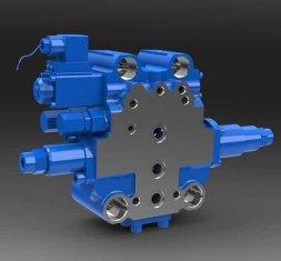 SXHCF10L 로타리 버퍼 방향 유압 밸브 모터 그 레이더
