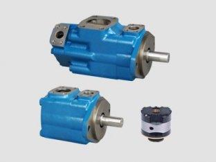 1200 Rpm 단일 비커스 유압 베인 펌프 물 오일 Emulsions