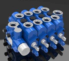 중국 엔지니어링 방식으로 멀티 유압 방향 제어 밸브 4GCJX-G12L 협력 업체