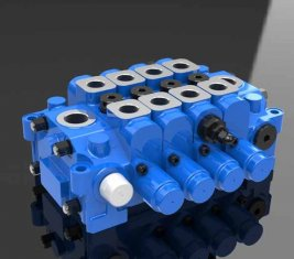 중국 공학에 대 한 유압 멀티 방향 제어 밸브 4GCJX-G18L 협력 업체