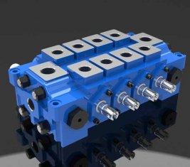 중국 다중 유압 방향 제어 밸브 DL 공학에 대 한 결합 협력 업체