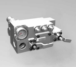 420 / 400 수동 물 방향 제어 밸브 CLSF38-1 바