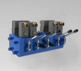 전기 유압 방향 제어 밸브 CMJF20 80 / 210 l/분