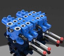 유압 체크 멀티 방향 제어 밸브 DLYS 광업